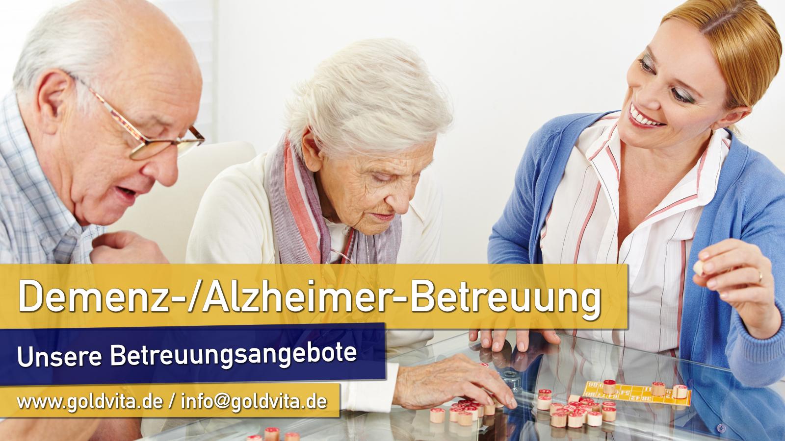 Demenzbetreuung von Senioren