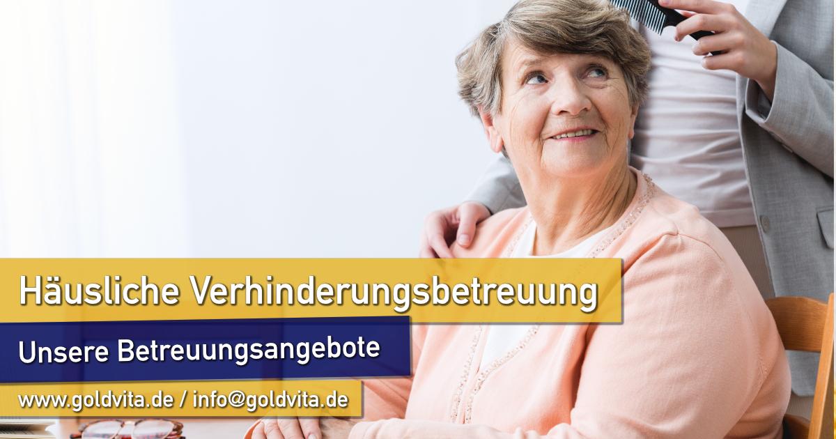 Verhinderungsbetreuung von Senioren