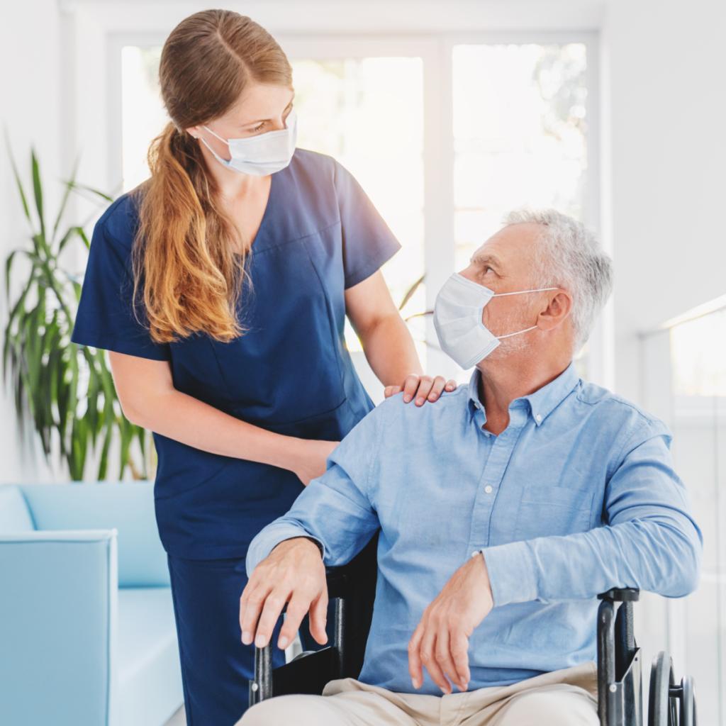 Ihre Vorteile Seniorenbetreuung bei Corona